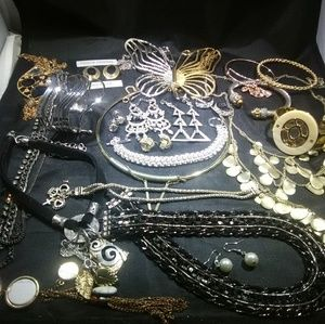 Vintage jewelry and modern mix women's lot